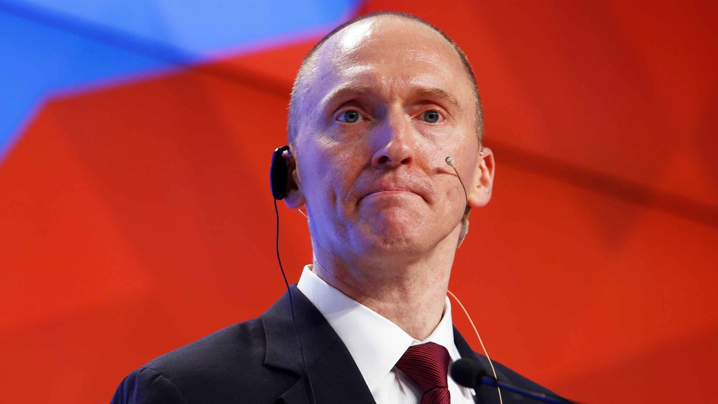 The Strange Pleasure of Seeing Carter Page Set Himself on Fire