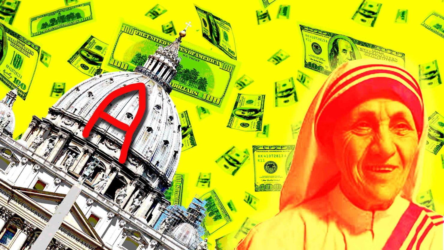 Mother Teresa's Secret Billions and a Vatican Seminary Rampant with Sex Abuse—a New Book Tells All