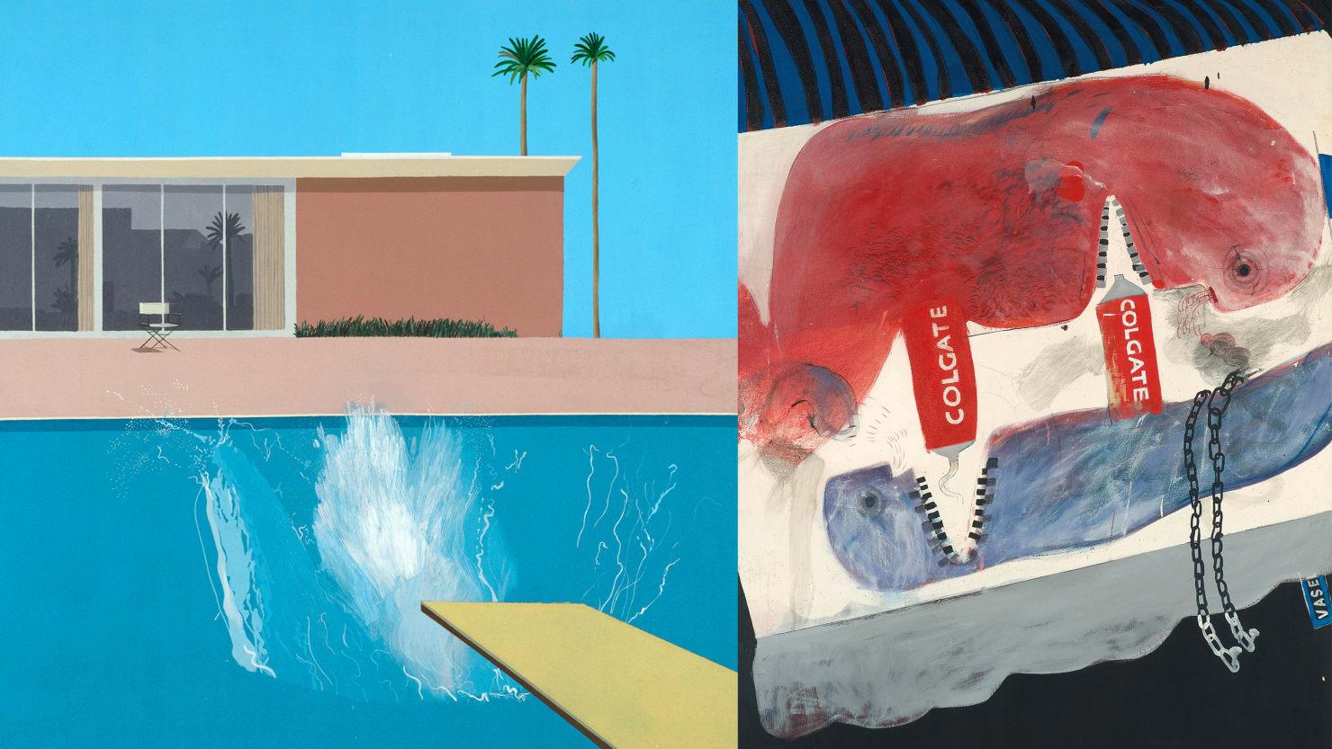 Swimming In The Sexy Genius Of David Hockney