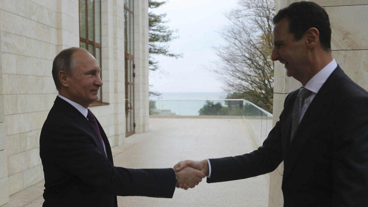 Putin to speak with trump after hosting syrias assad in sochi the putin to speak with trump after hosting syrias assad in sochi kristyandbryce Images