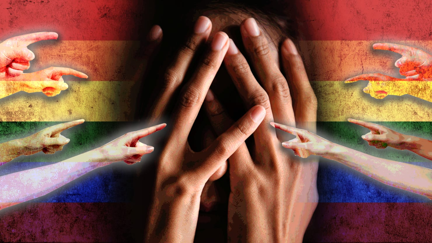 harvard study  lgbt people of color suffer double