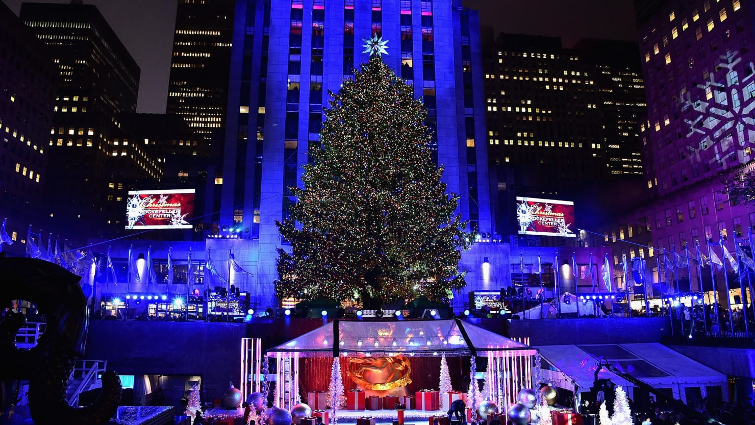 2017 Rockefeller Center Christmas Tree Lighting Ceremony: How to ...