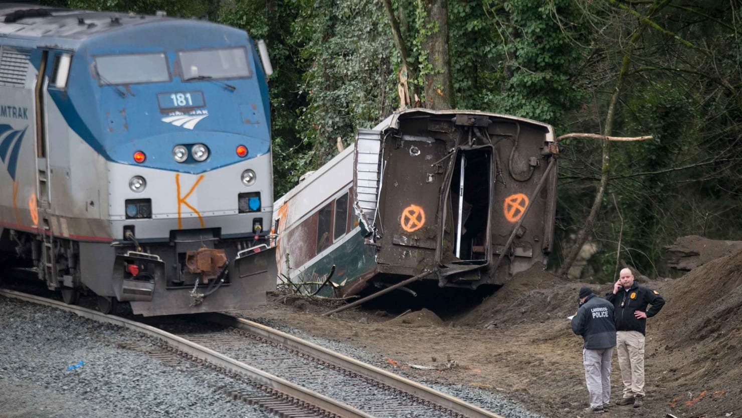 Toyota Of Glendale >> Amtrak Train Crash Brought Out Trump's Worst—and NTSB's Best
