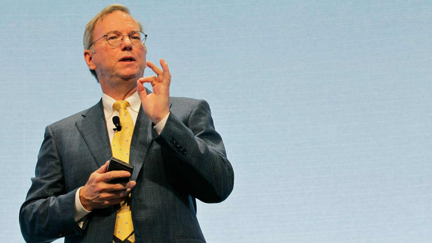 Eric Schmidt Stepping Down as Alphabet CEO - The Daily Beast