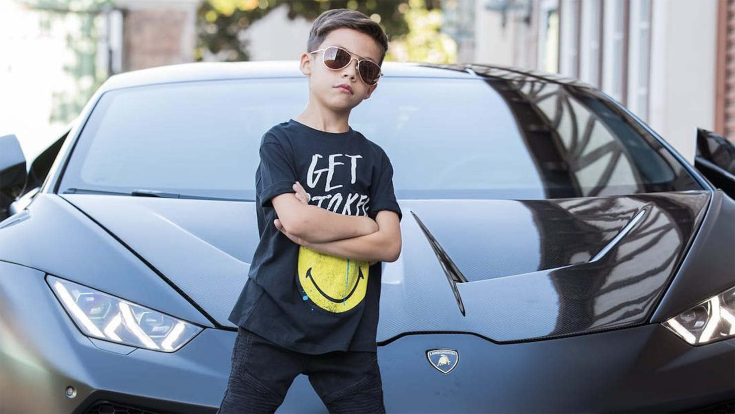 Ben Hampton Has 670,000 Followers on Instagram. He's Only 6 Years Old.