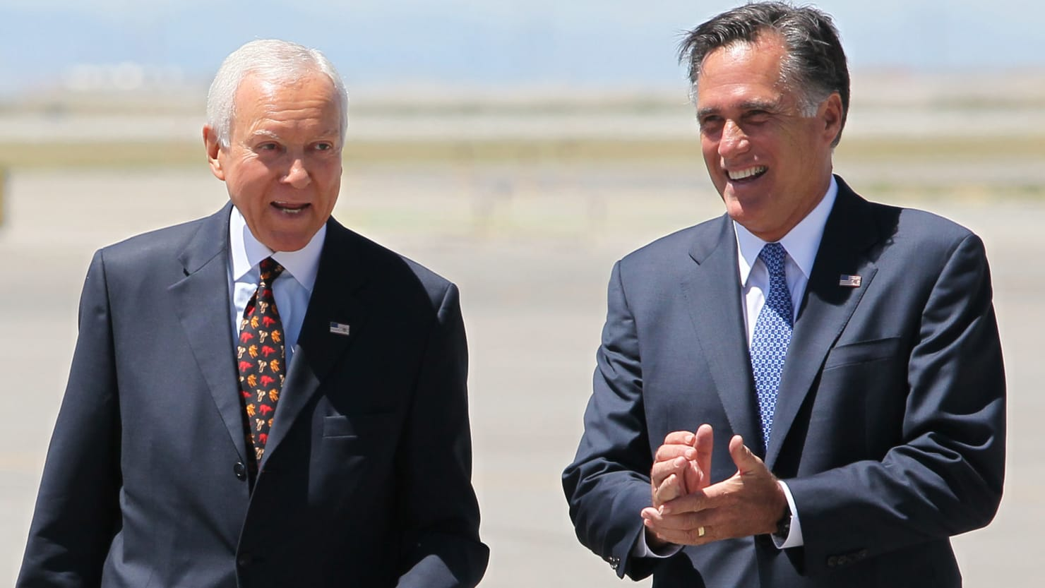 Image result for photos of Mitt Romney in senate