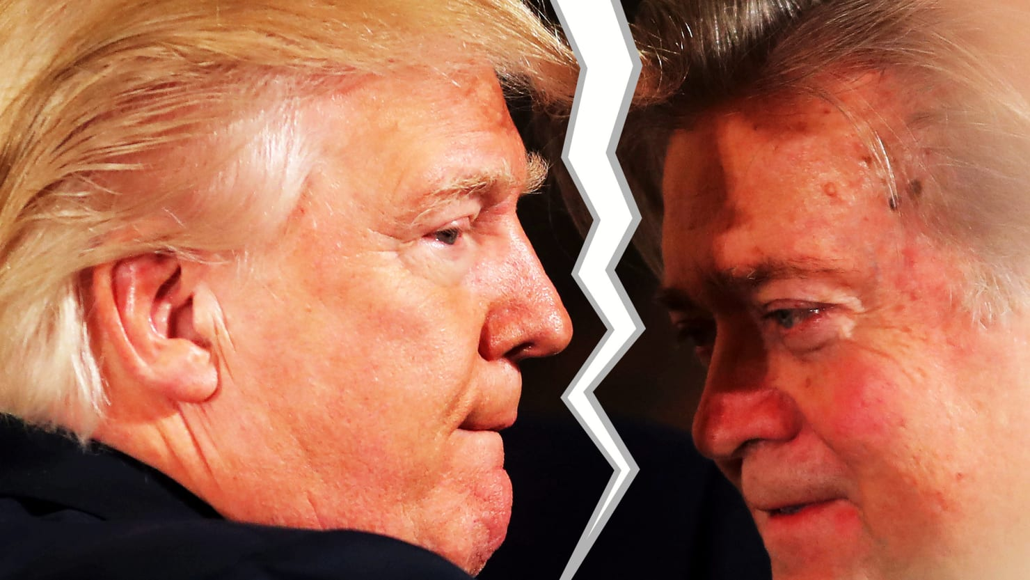Bannon and Trump Part Ways, as Thieves Fall Out