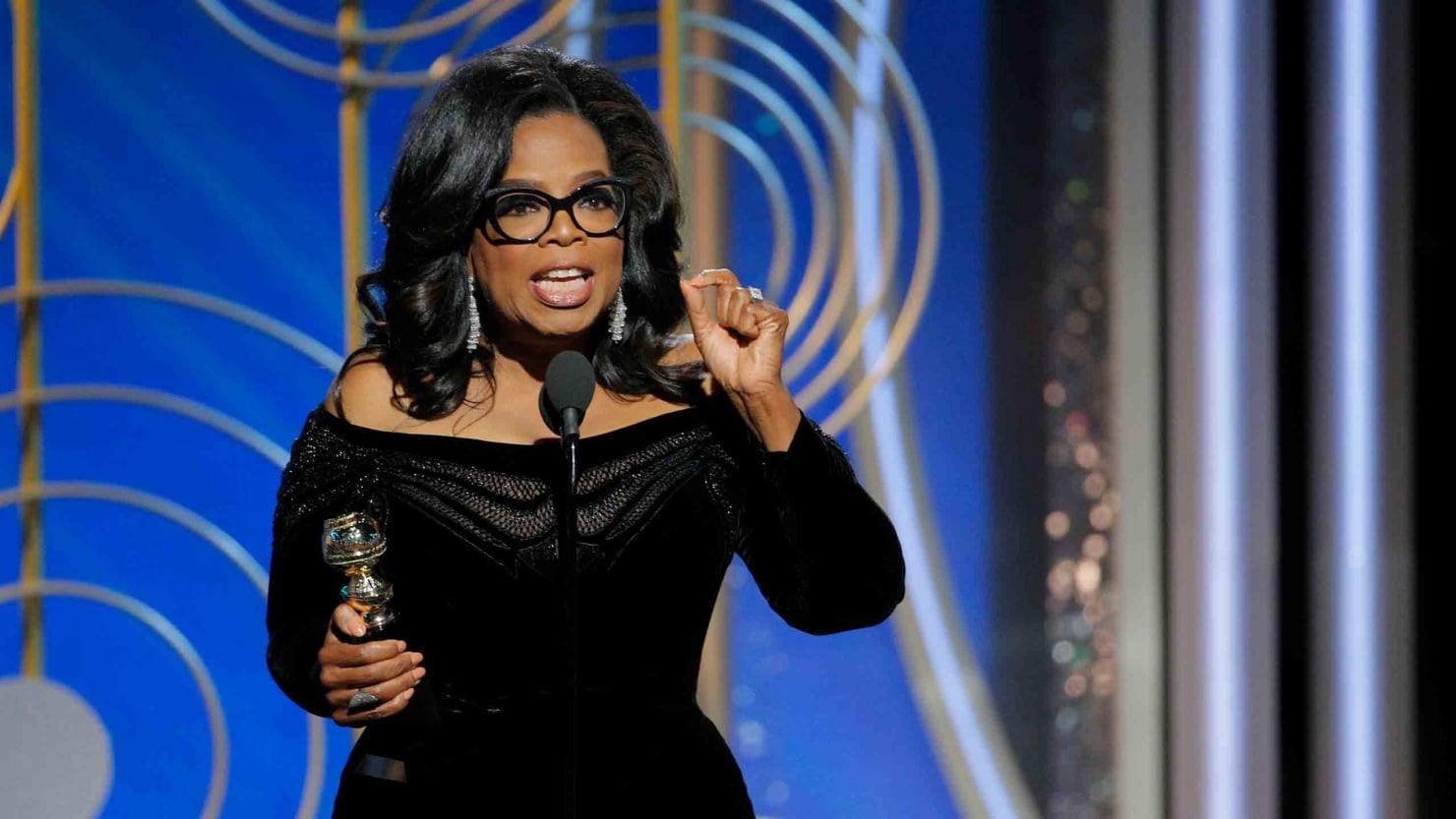 Oprah For President Why Oprah Winfrey S Golden Globes