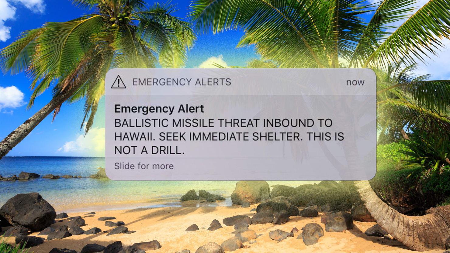 Image result for hawaii emergency alert