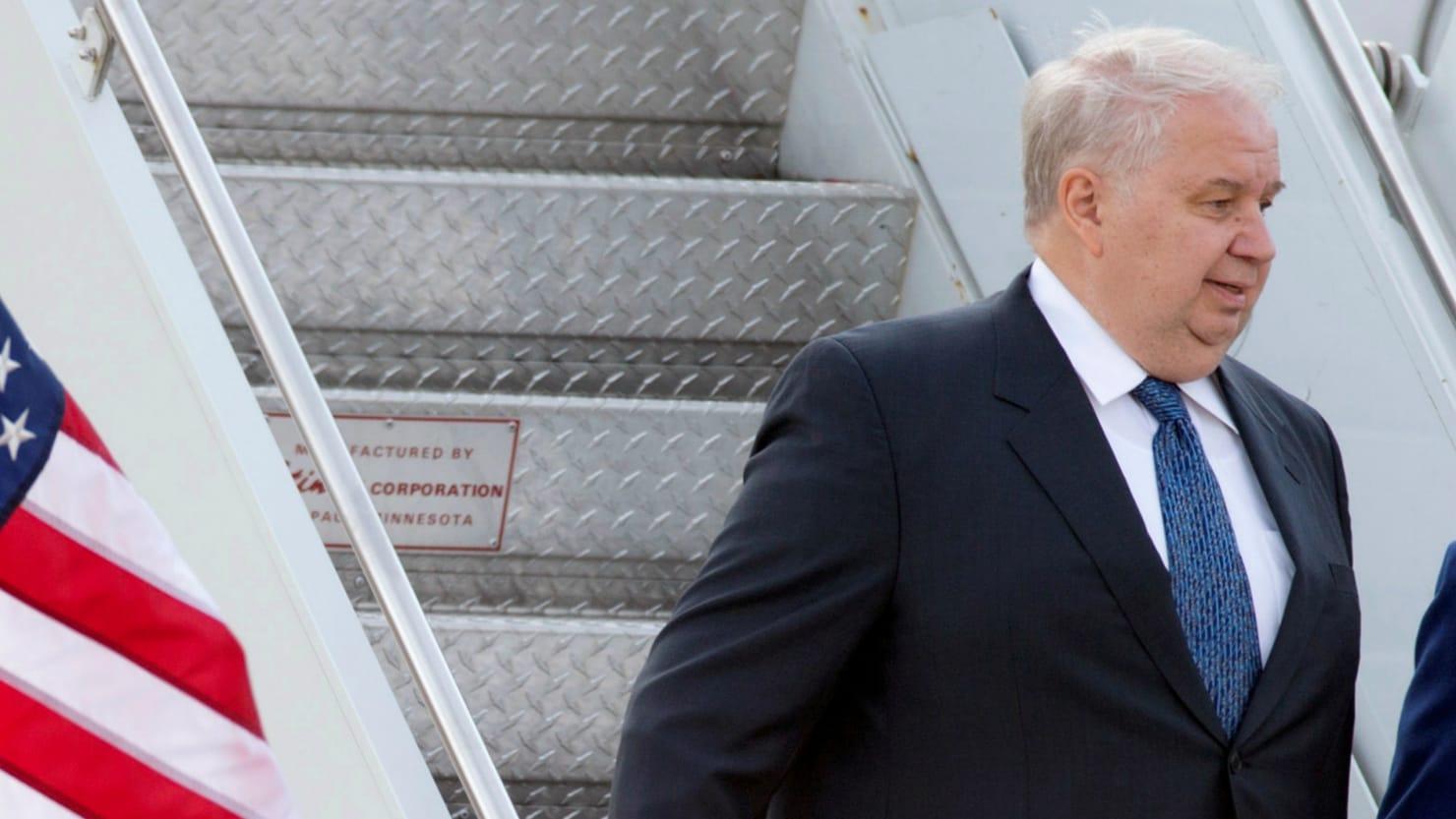 Russian Ambassador Kislyak