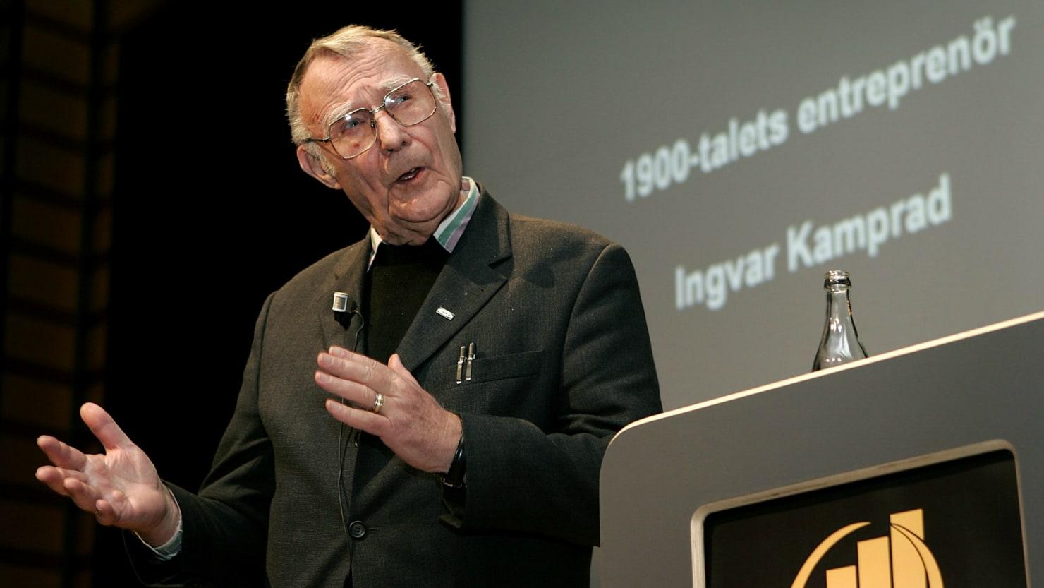 Ikea Founder Ingvar Kamprad Dead At 91