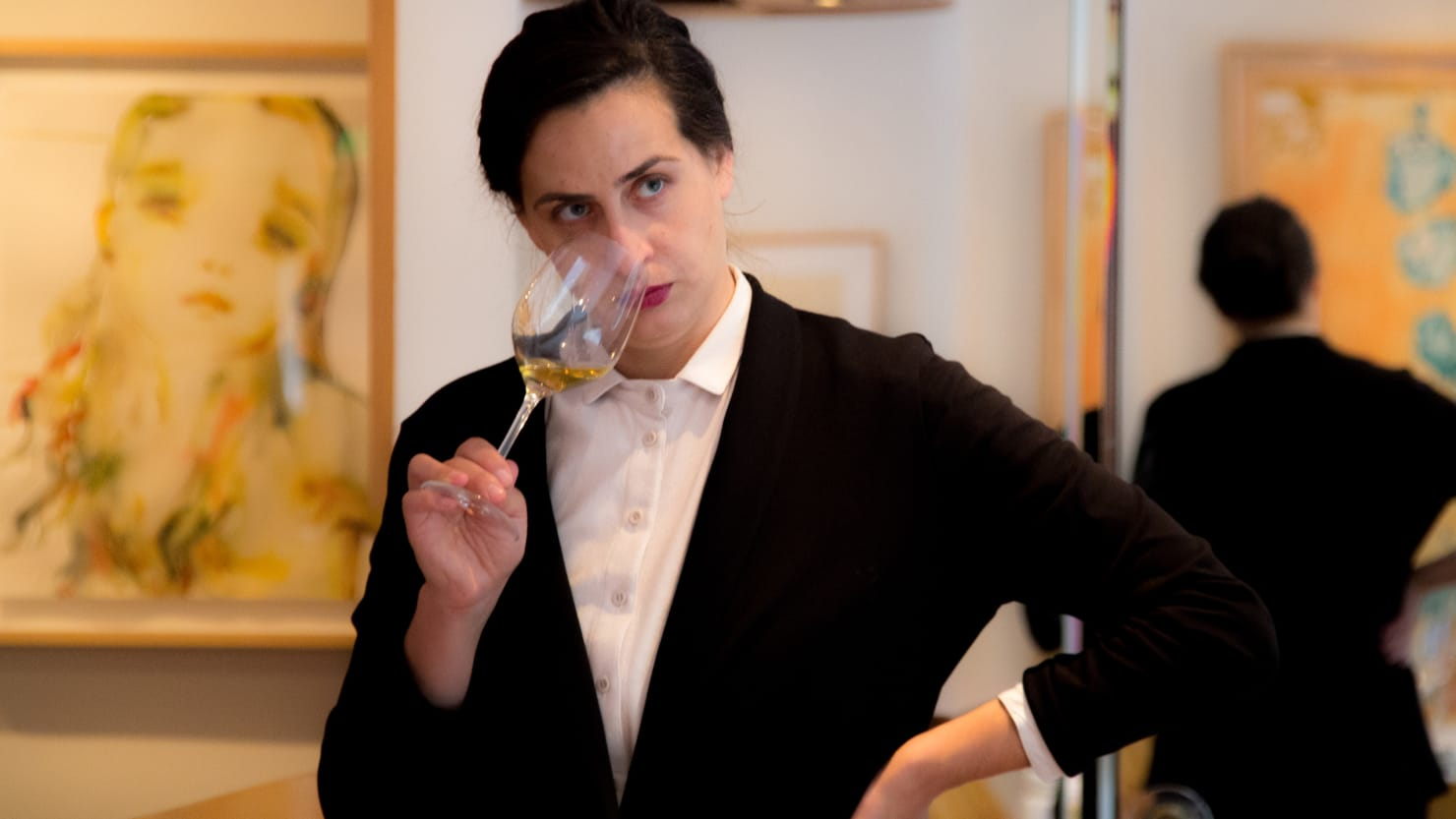 Going 10 Rounds With Sommelier Roni Ginach