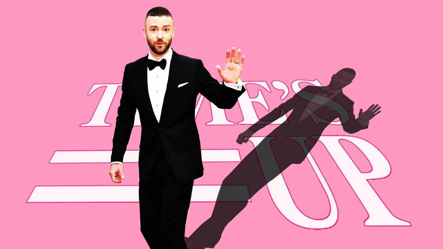 Justin Timberlake's Glaring Time's Up Hypocrisy
