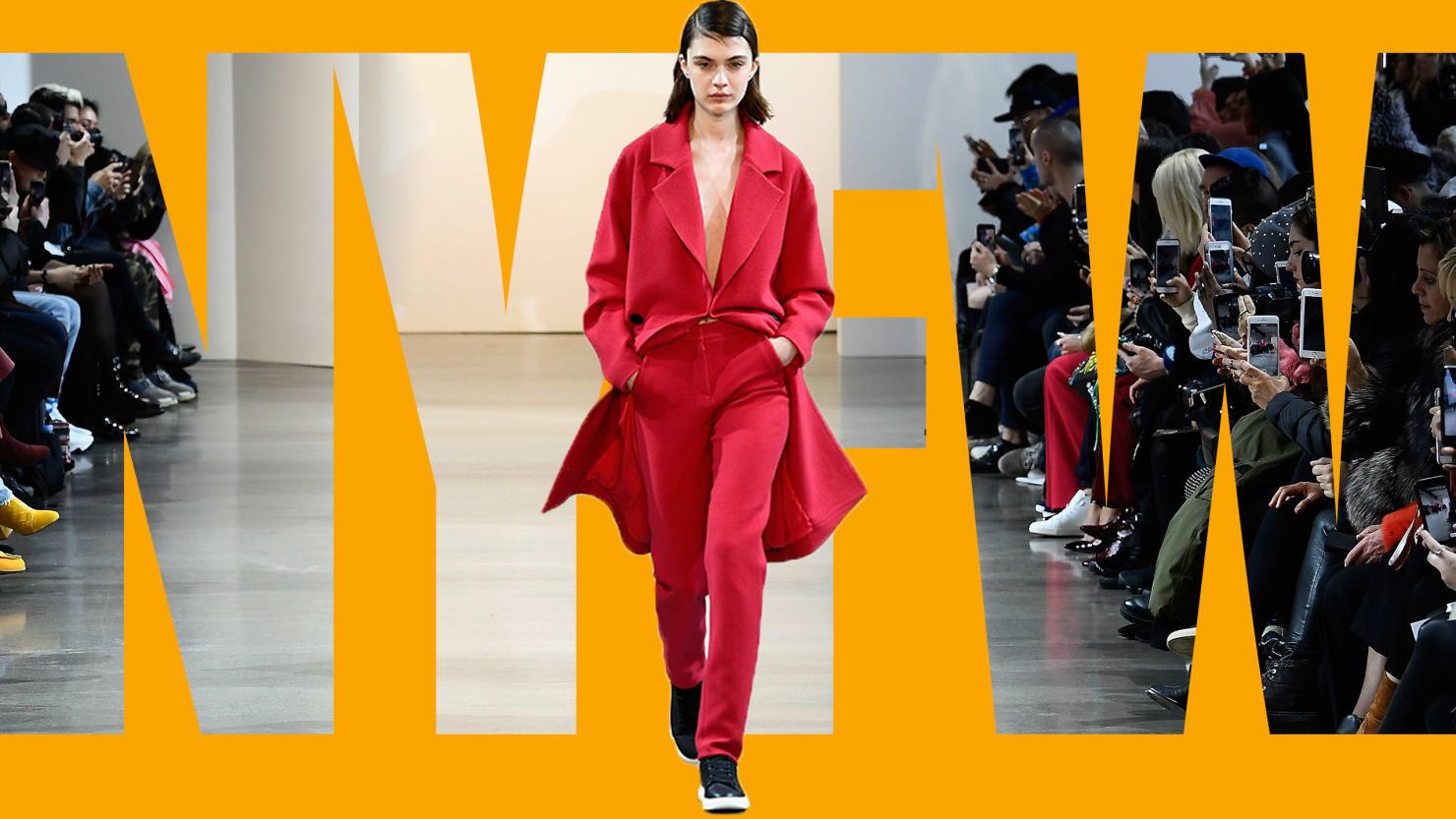 So Far New York Fashion Week Provides Escape Not Politics