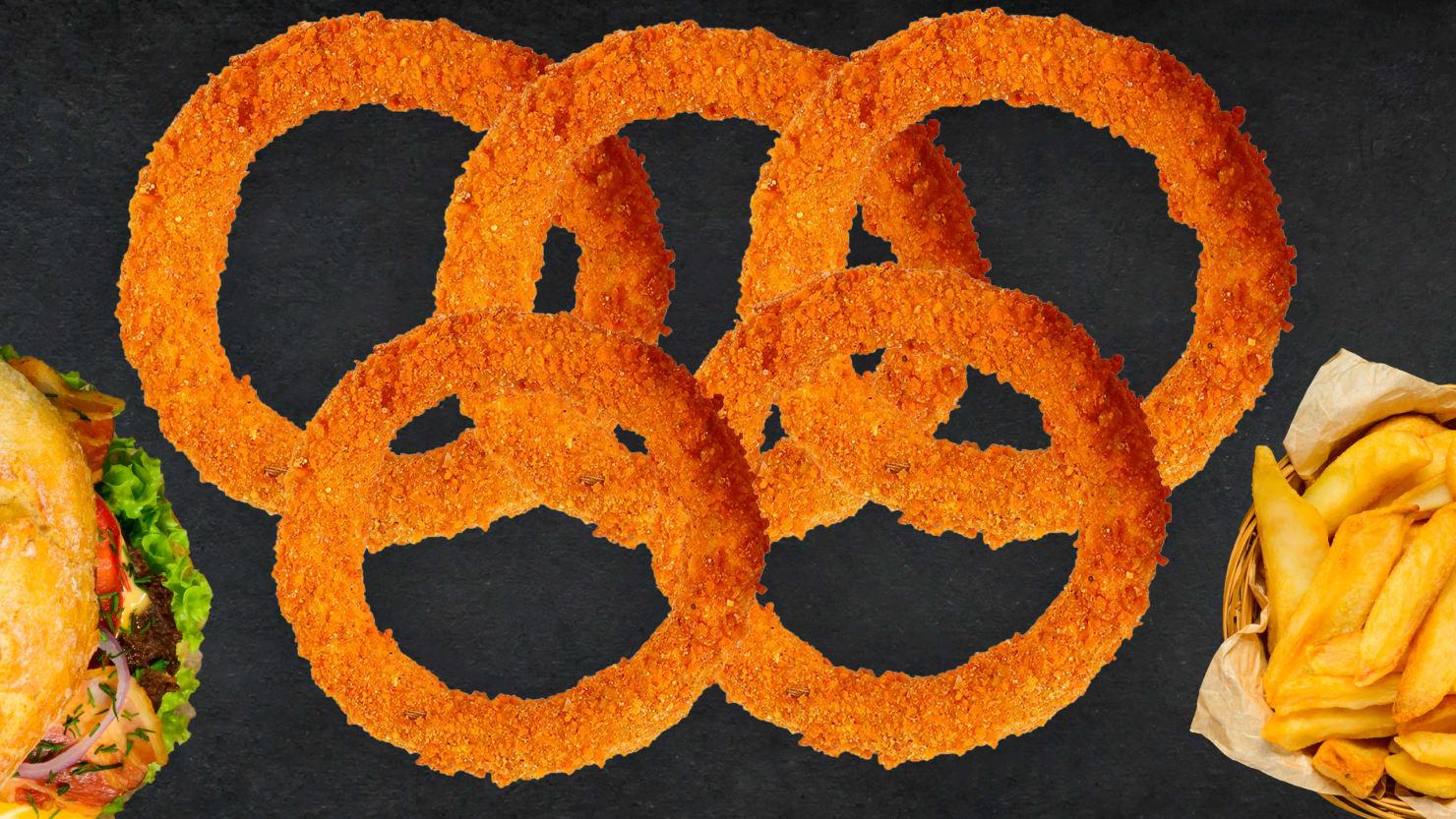 onion rings fries burger olympics winter chloe kim food fast high fat carb atkins low high