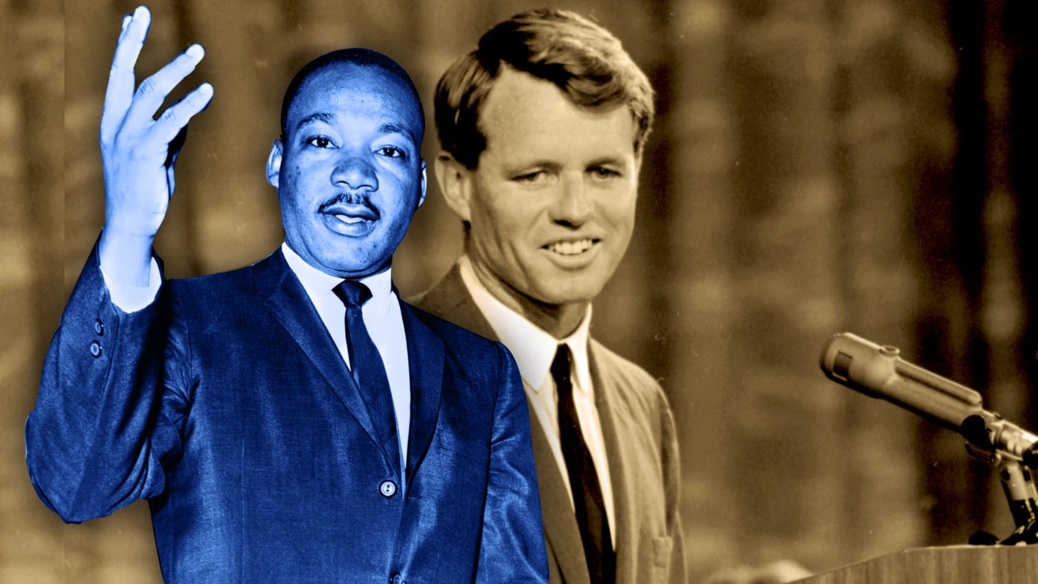 The Revealing Ghosts of Robert F. Kennedy and Martin Luther King Jr.