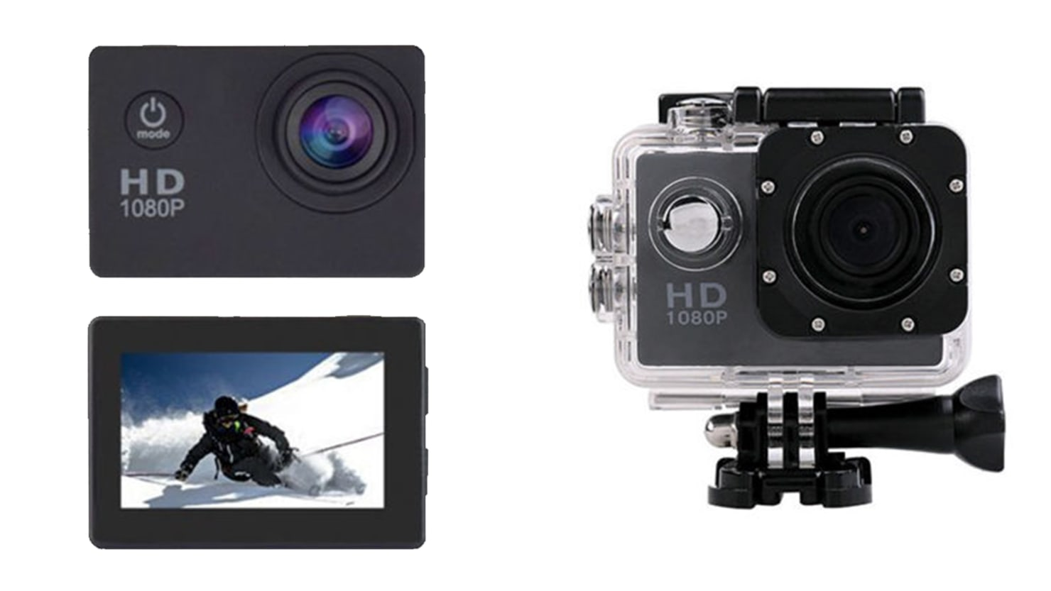 This 4K HD Action Camera That Works Like A GoPro Is 53 Off The