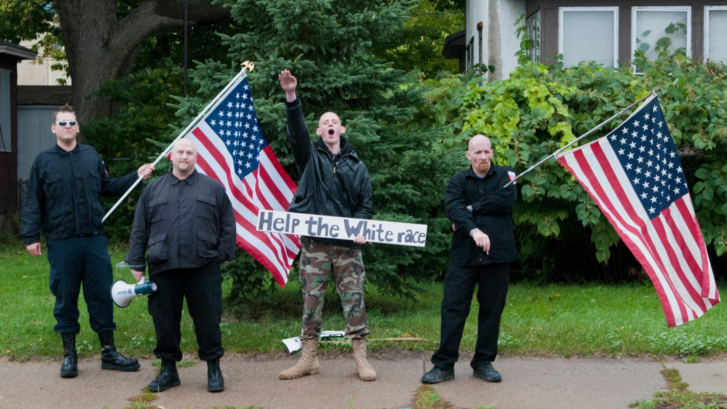 a report on the skinheads a neo nazi group in the united states of america The racist skinhead movement in the united states has entered  longtime leader of the neo-nazi group white  decade of skinheads in america finds.