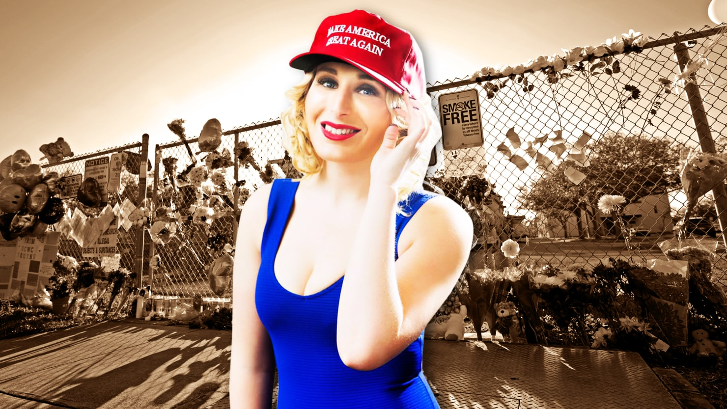 infowars sends professional troll laura loomer to parkland
