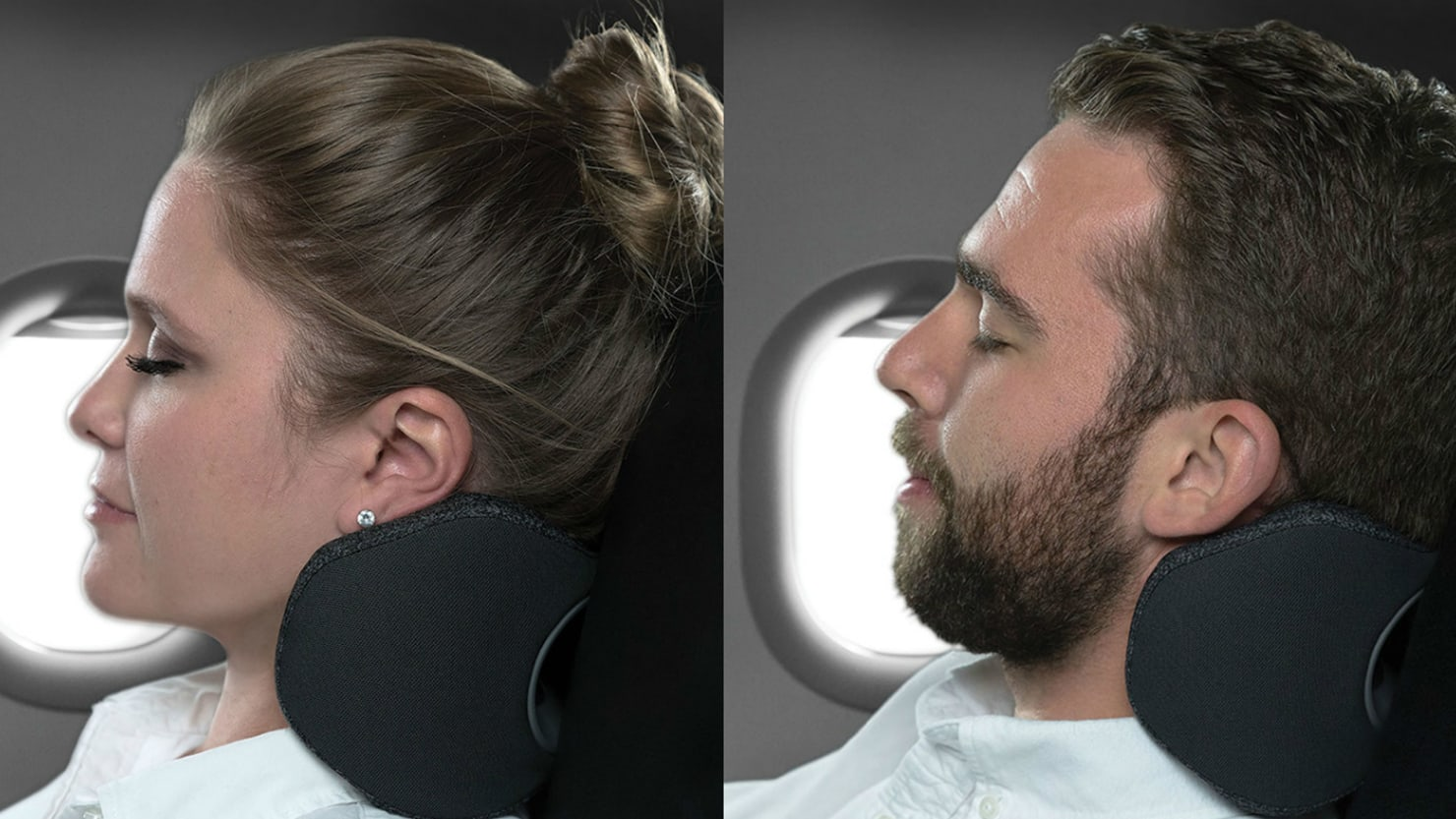This Travel Pillow Was Designed to Improve Plane Sleep