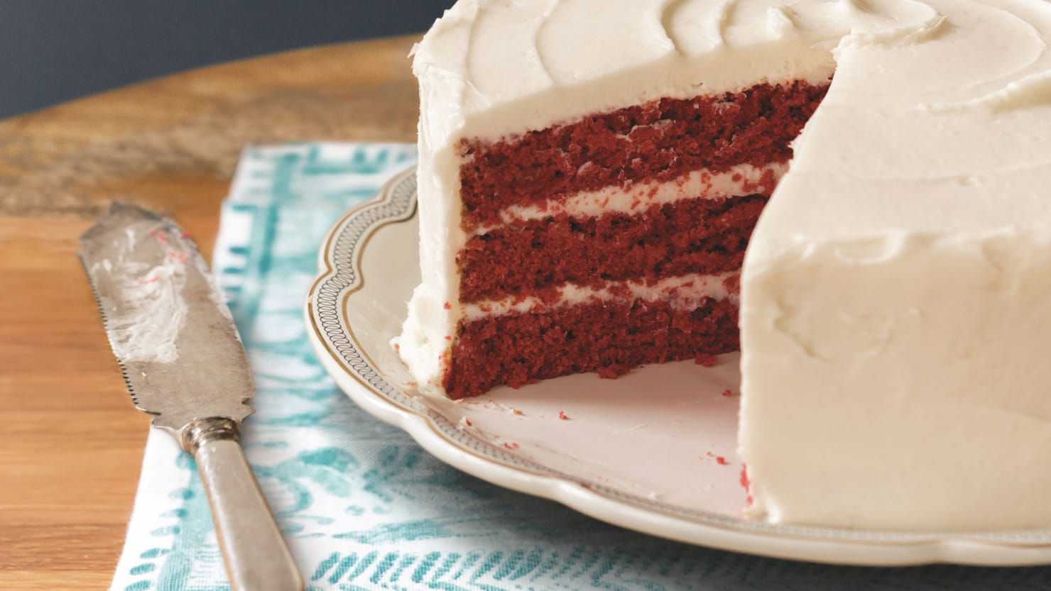 The Real Red Velvet Cake Recipe