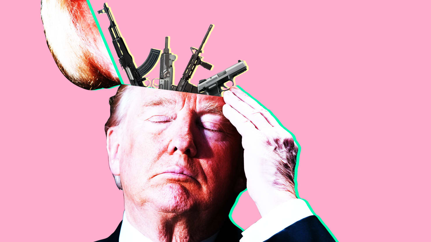 Trump only hears NRA