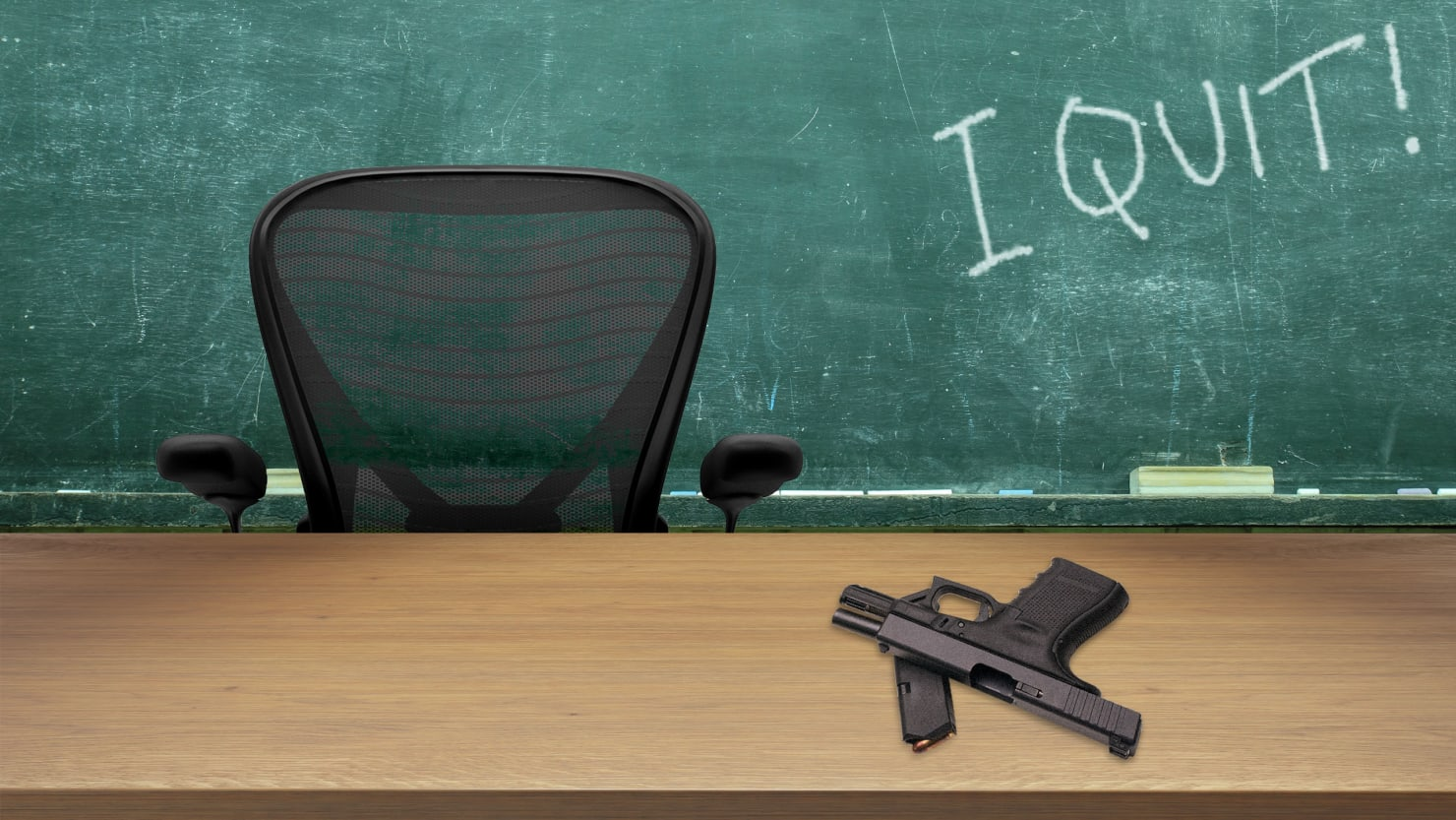 Teachers: We'll Quit Before Trump Gets Us to Carry Guns