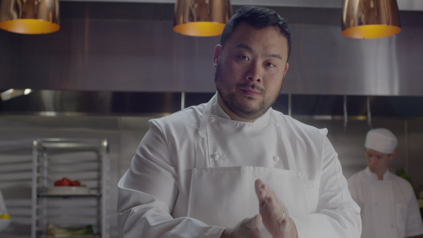 Chef David Chang Talks Netflix's 'Ugly Delicious' and Why Food Is 'One of the Last Bastions' of Racism
