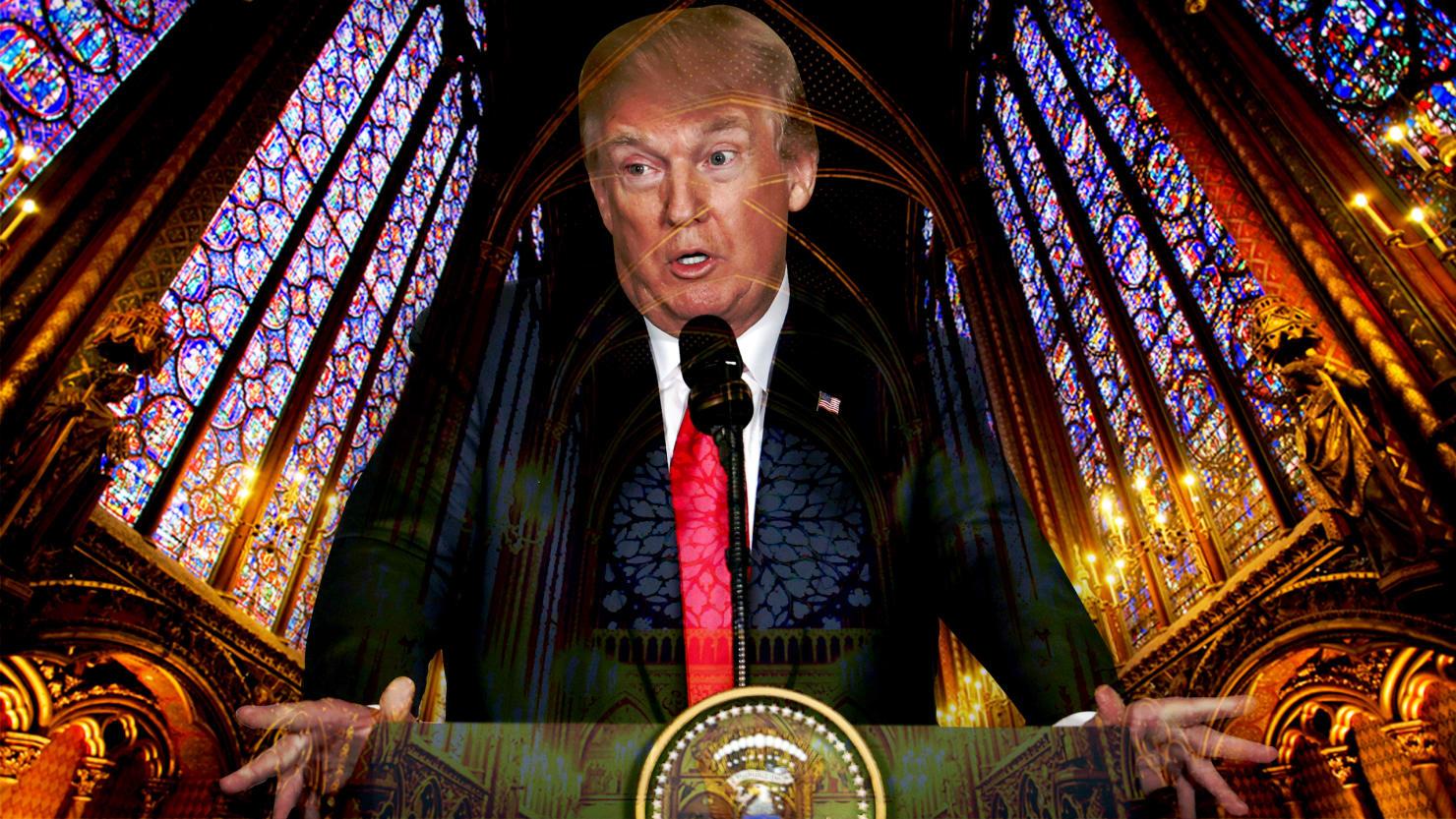The Faith of Donald Trump Is Fake, But All Too Familiar