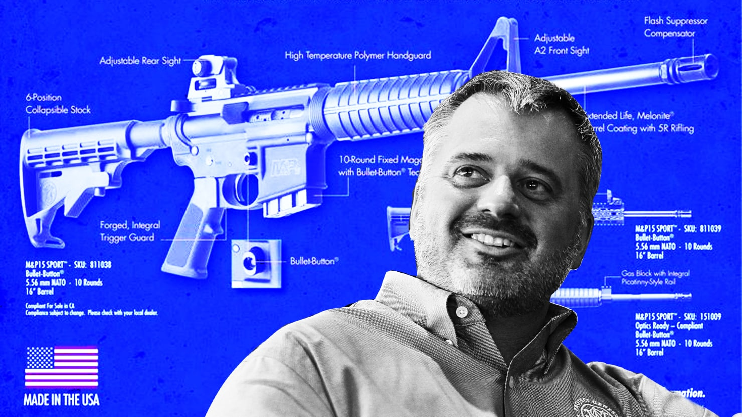 He Made the Gun That Slaughtered Parkland's Kids