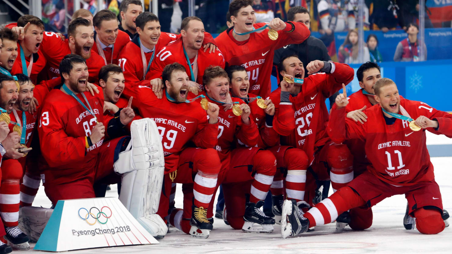 IOC did not remove the Russian team from the Olympics in Rio 13