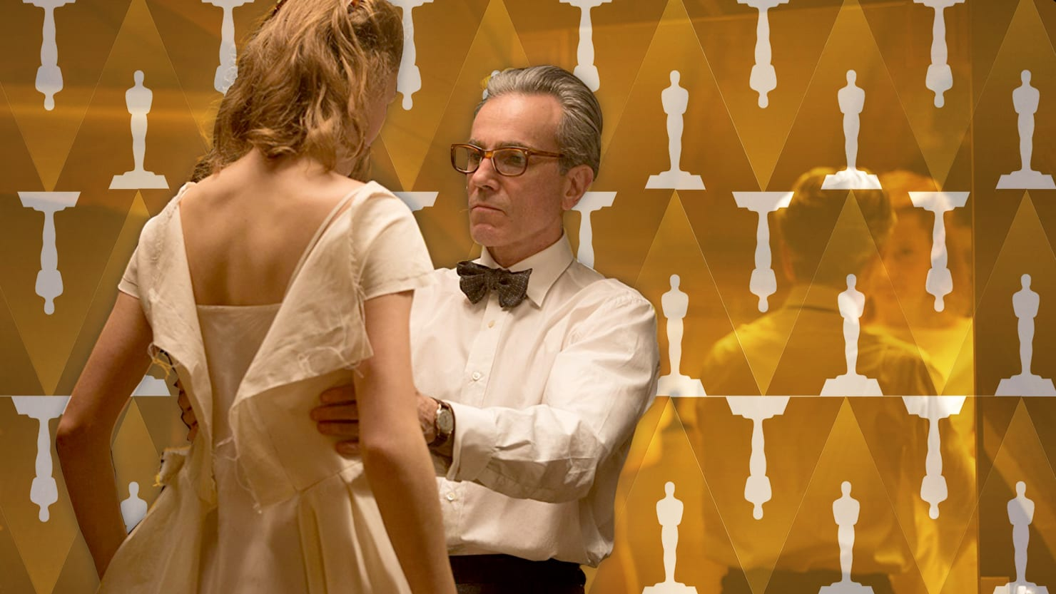 Image result for phantom thread oscars