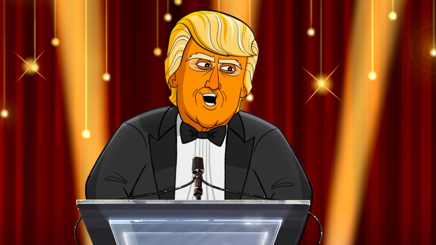 Cartoon Trump Roasts The Oscar Nominees Im Going To