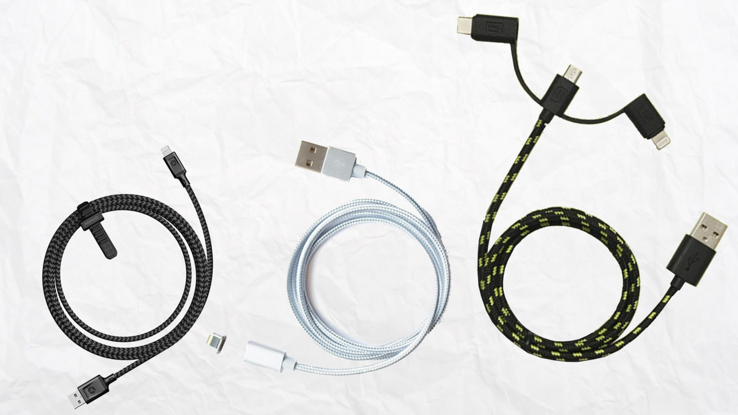 3 Charging Cables That Work Better Than What Comes With Your Phone