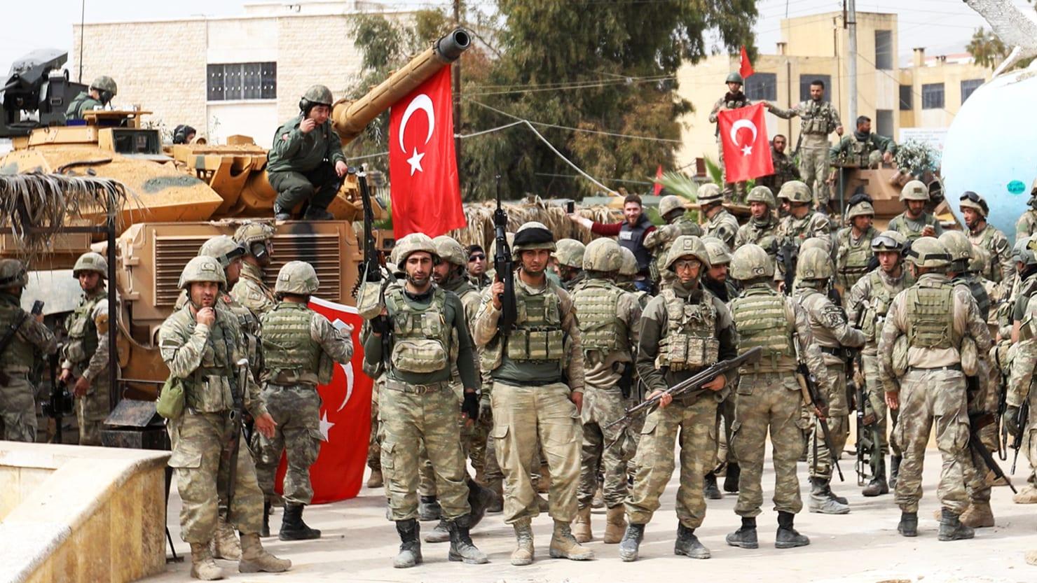 Who killed the Turks 56