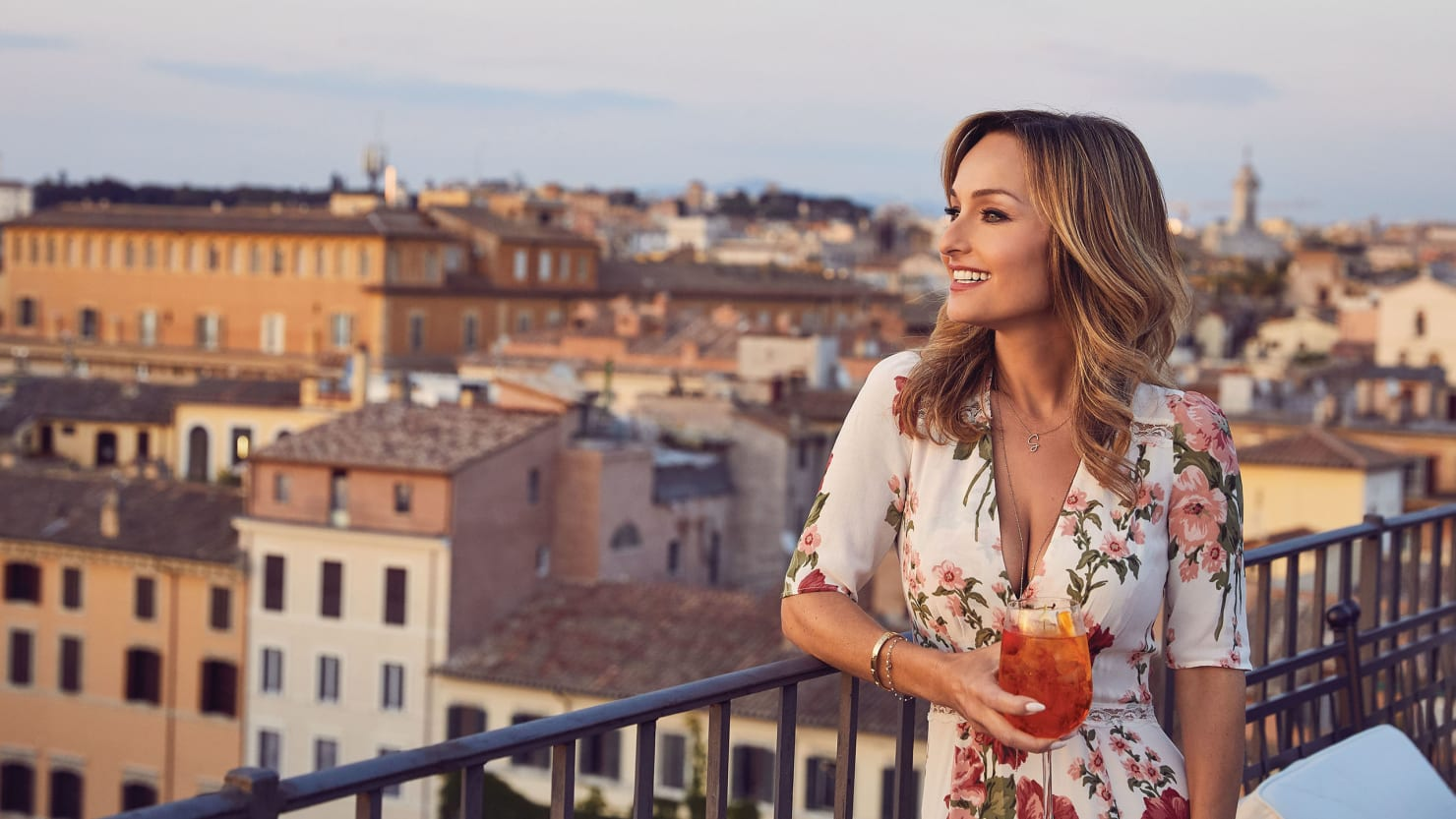 How Giada De Laurentiis Cooks Rigatoni for her Family