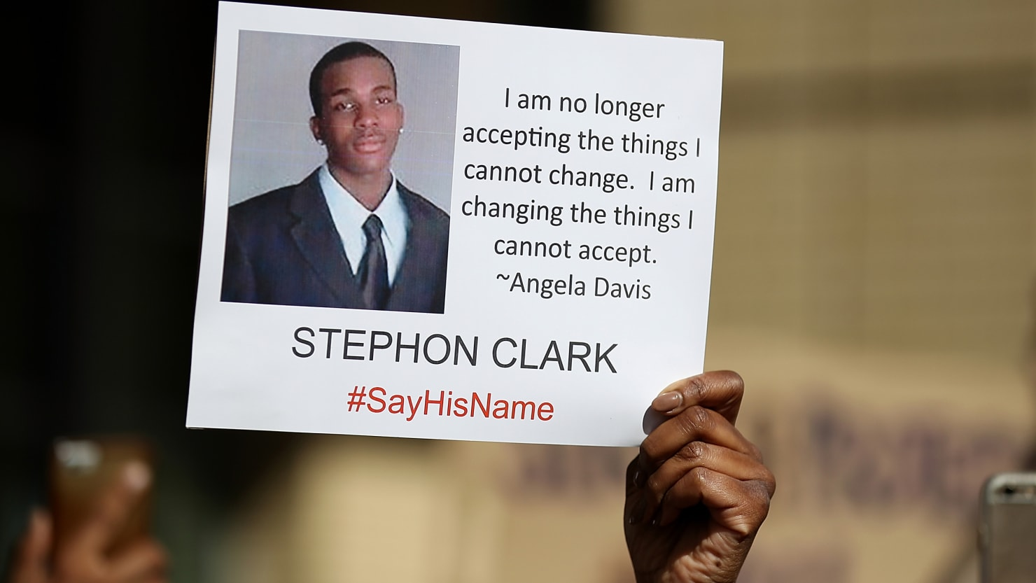 Stephon Clark's Family to Sue Sacramento Police for His ... Stephon Clark