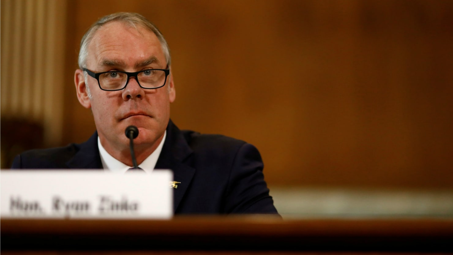 Eric Thayer/Reuters. Interior Secretary ...