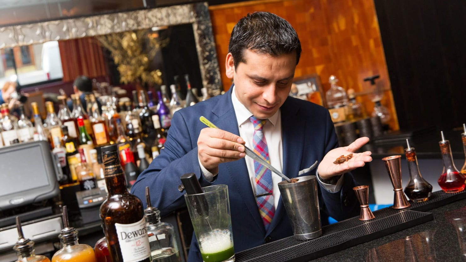 Going 10 Rounds with Top Bartender Hemant Pathak