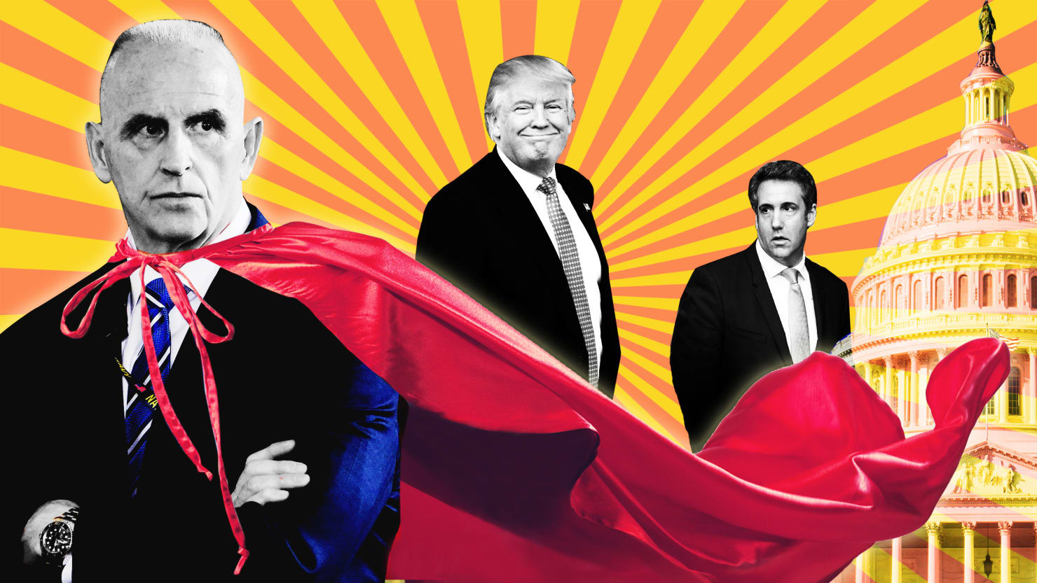 Photo Illustration by Lyne Lucien/The Daily Beast