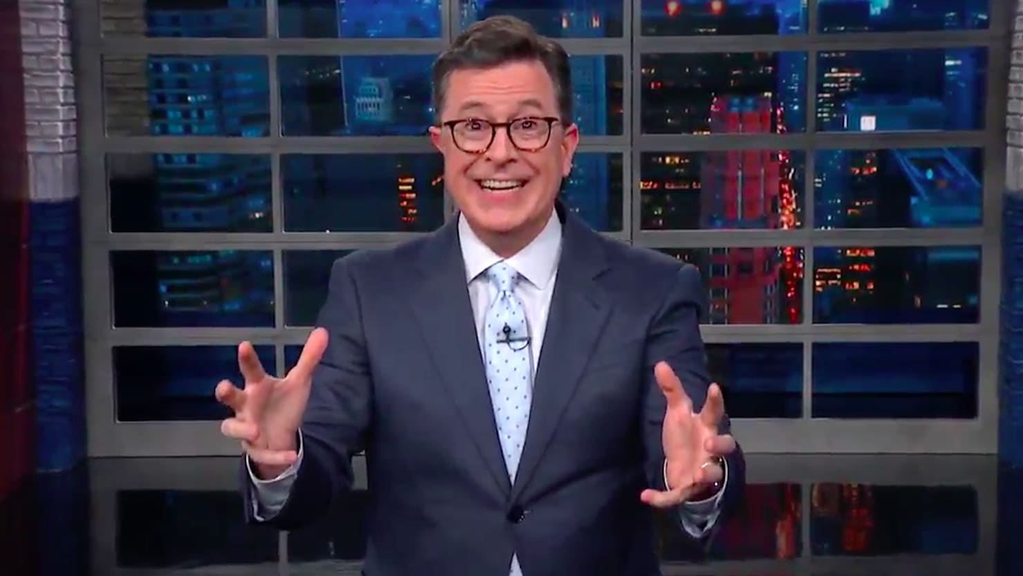Stephen Colbert Is Dying to Know Who Sean Hannity 'Had Sex With'