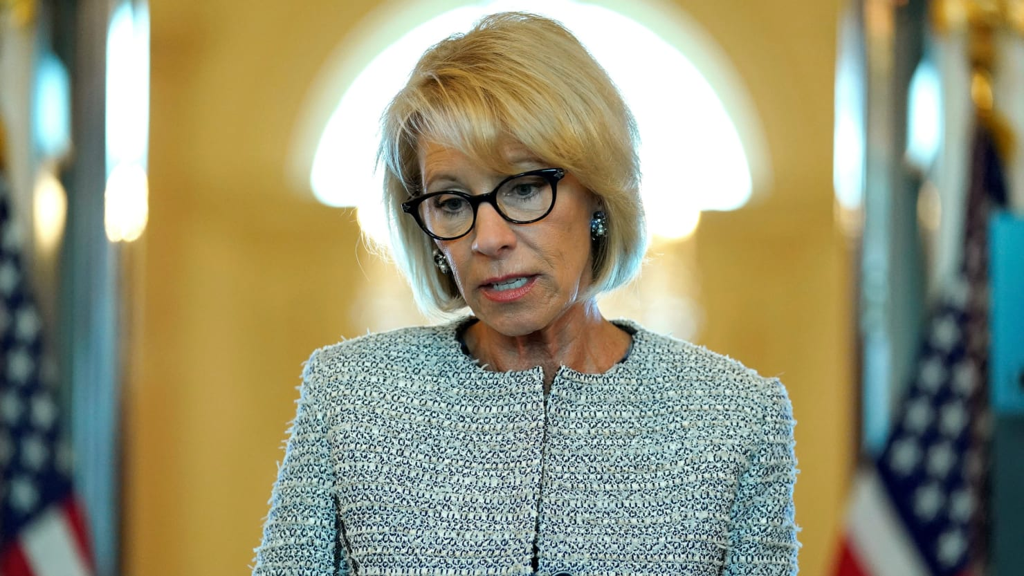 DeVos Cuts Down on Civil-Rights Investigations in Schools