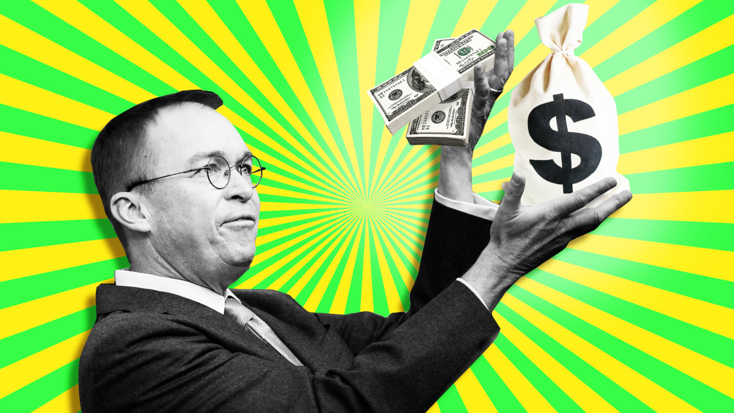 Mick Mulvaney ysed GOP funds to pay off interest on debts
