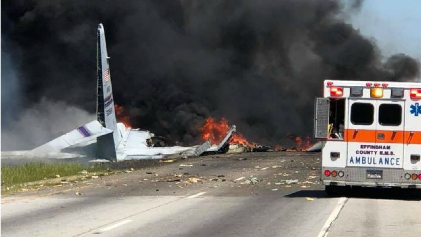 5 killed in military plane crash