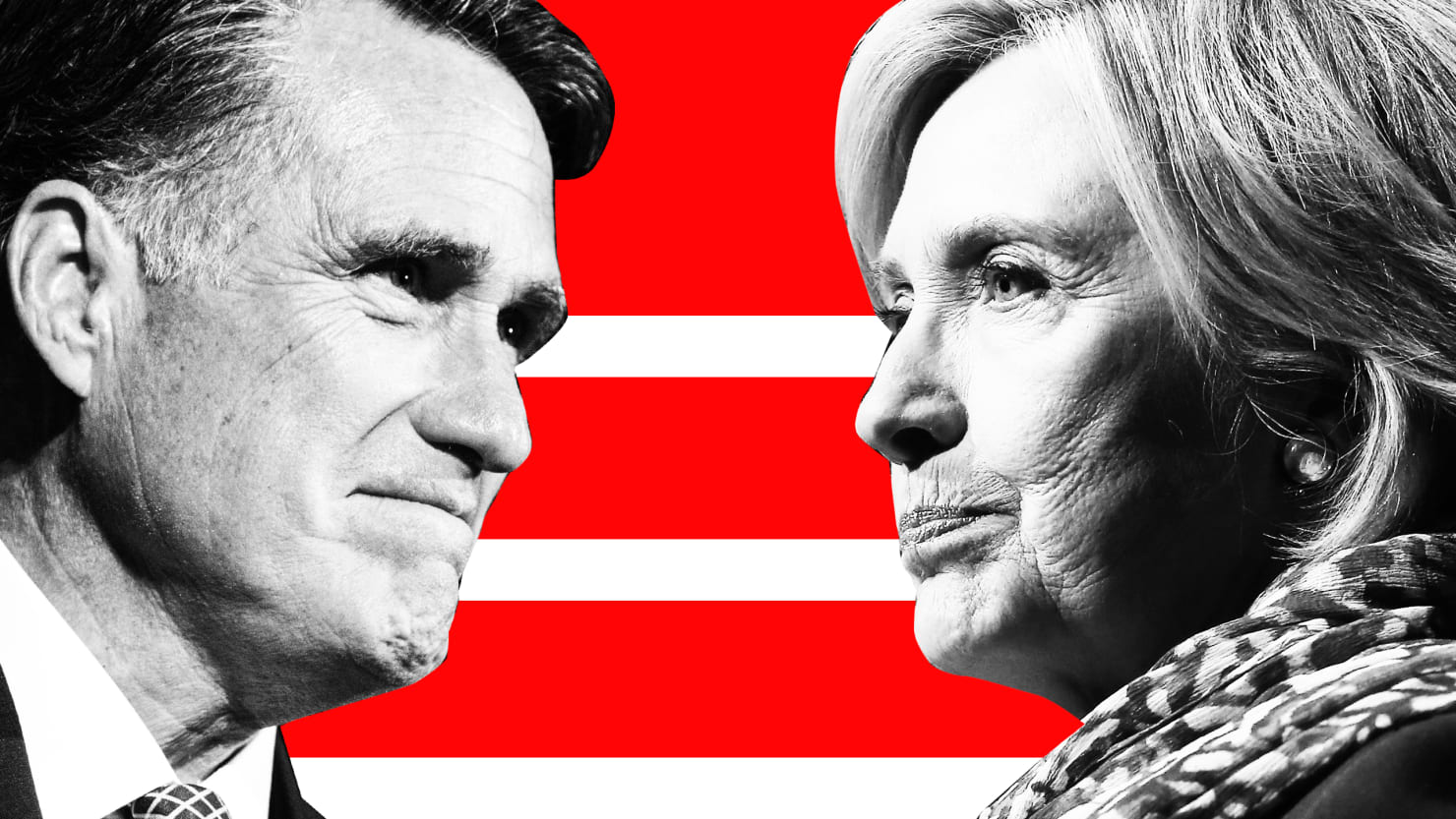 Hillary Clinton, Mitt Romney, and What Could Have Been