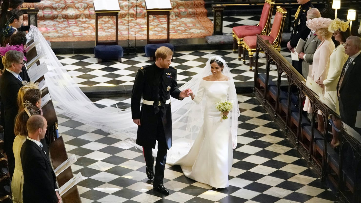 Meghan Markle Said Yes To The Most Beautiful Wedding Dress