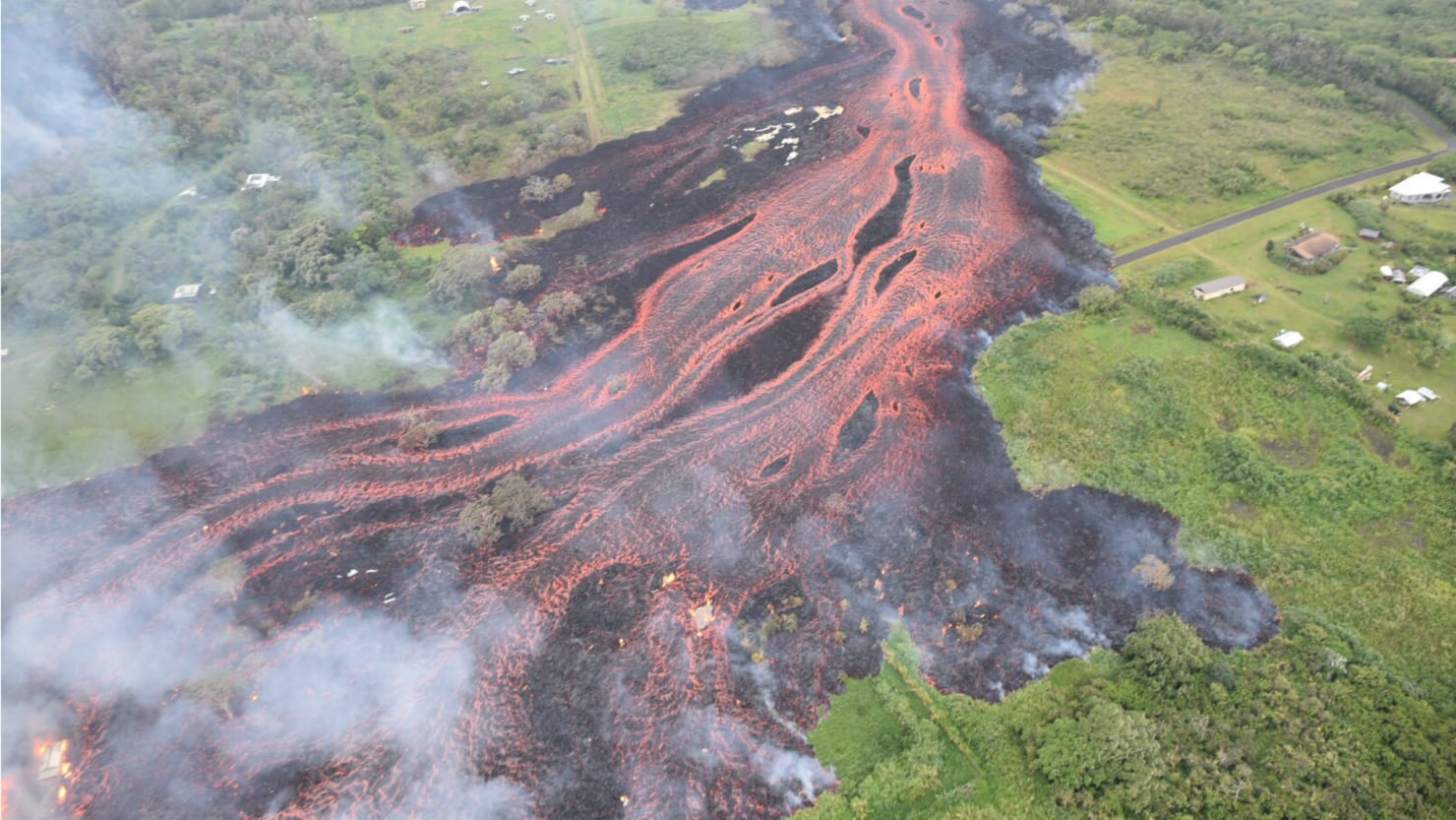 Lava Enters Hawaii Power Plant, Risking Deadly Gas Release