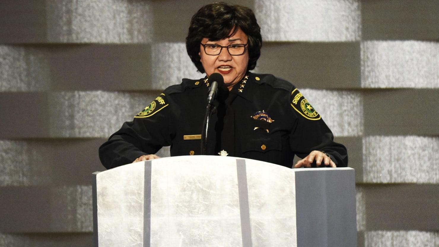 Lesbian Sheriff Lupe Valdez Is Out to Beat Anti-LGBT Texas Gov. Greg Abbott