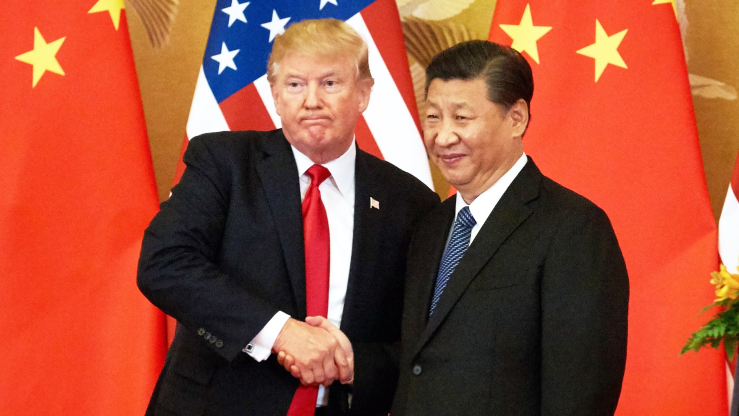 Spooked Republicans Scramble to Tie Trump's Hands on China ...