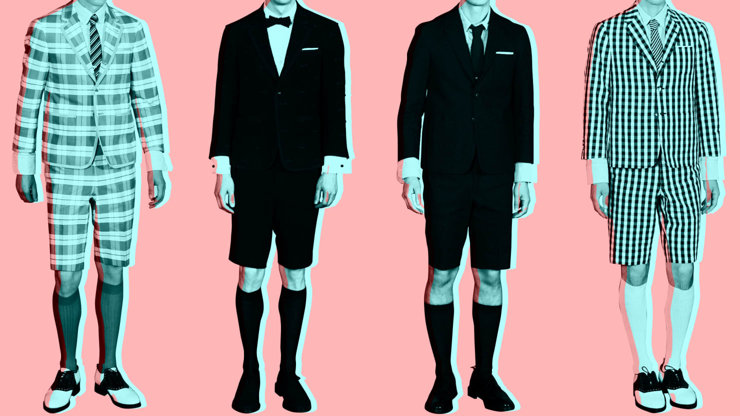 Men, Are You and Your Legs Ready for a Summer of Suit Shorts?